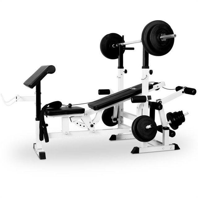 Klarfit Banc De Musculation Station à Charge Guidée Curler