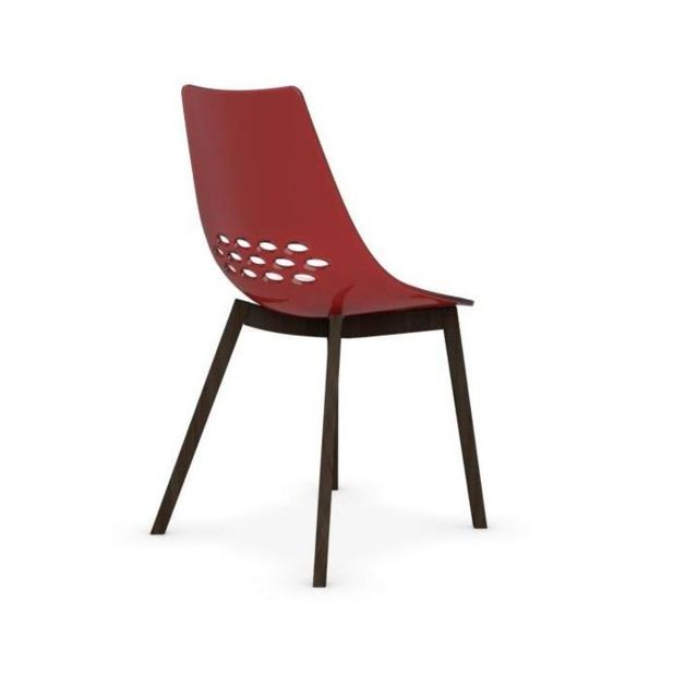 Chaise transparente rouge - Chaise rouge transparente ...
