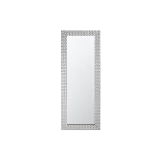 BELIANI Miroir argenté 50 x 130 cm DERVAL - argent