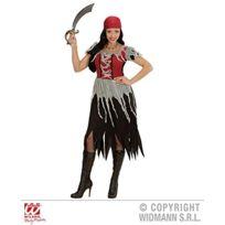 Sancto - Widmann 00062 Adulte-costume De Robe Piratin Bandana