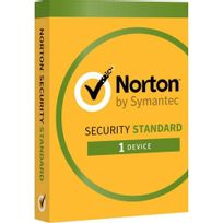 Symantec - Norton Security 2017 Standard - 1 Appareil, 1 An