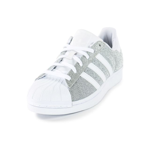Adidas originals - Superstar Paillettes Argentée - Tennis ...