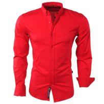 Carisma - Chemise italienne colorée homme Chemise 8363 rouge