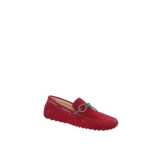 Baxton Chaussure bateau ref_bomends35163-rouge