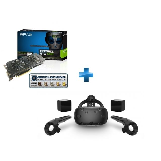 KFA2 - GeForce GTX 1080 EXOC 8GB GDDR5X 256-bit + Vive