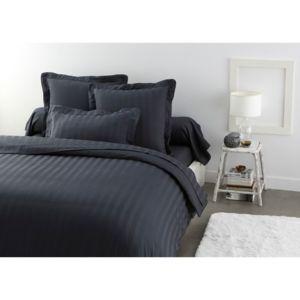 tex home parure olivier drap plat 2 taies d 39 oreiller en satin pas cher achat vente. Black Bedroom Furniture Sets. Home Design Ideas