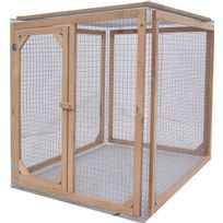 Les Animaux De La Fee - Enclos poule anti-prédateurs hauteur 120 cm made in france Taille 1 mètre