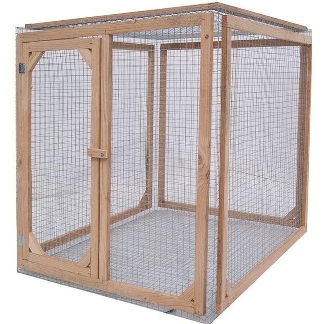 les animaux de la fee enclos poule anti pr dateurs. Black Bedroom Furniture Sets. Home Design Ideas