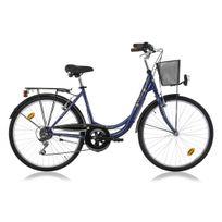 """Descheemaker - Vélo Fille Avignon 26"""" Bleu 2017"""