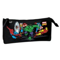 Marvel Comics - Trousse 1 compartiment rectangle noire