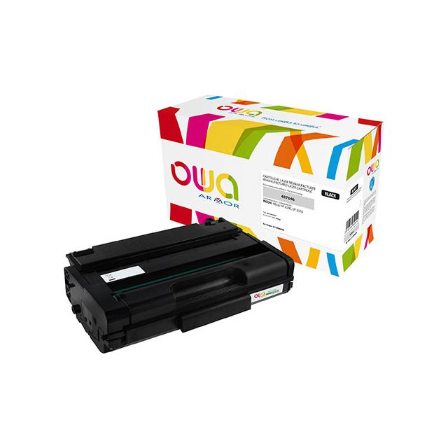 Toner Armor Owa compatible Ricoh 407464 noir pour imprimante laser