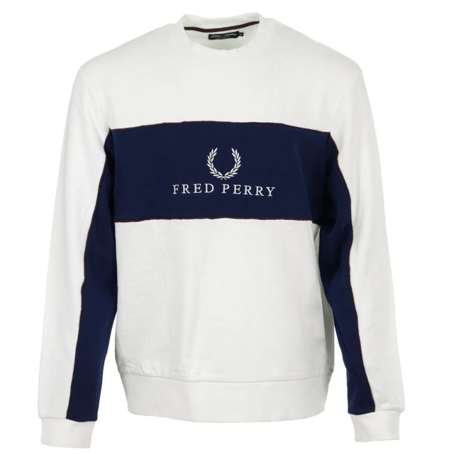 Fred Perry - Panel Piped Sweatshirt - pas