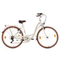 KS CYCLING - Vélo pour dame 28'' Eden blanc TC 48 cm
