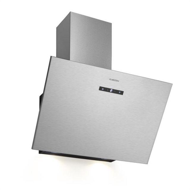 KLARSTEIN Silver Lining 60 hotte aspirante 60 cm 600 m³/h EEK A inox