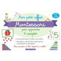 Larousse - mes albums Montessori ; mon petit coffret Montessori pour apprendre à compter
