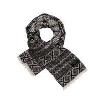 Guess - Foulard Keffieh Femme Imprimé Logo Noir - pas cher Achat ... bf806d0c850