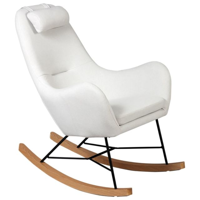 Altobuy Rosa - Rocking-Chair Beige