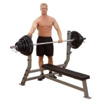 Bodysolid - Body-Solid ProClub Line Commercial Olympic Flat Bench