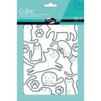 Maildor - Gommettes Color 6 planches : Chats et chiens