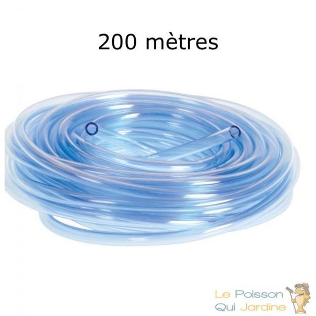 Le Poisson Qui Jardine 200 mètres de tuyau 4/6 mm pour pompe à air aquarium et bassin