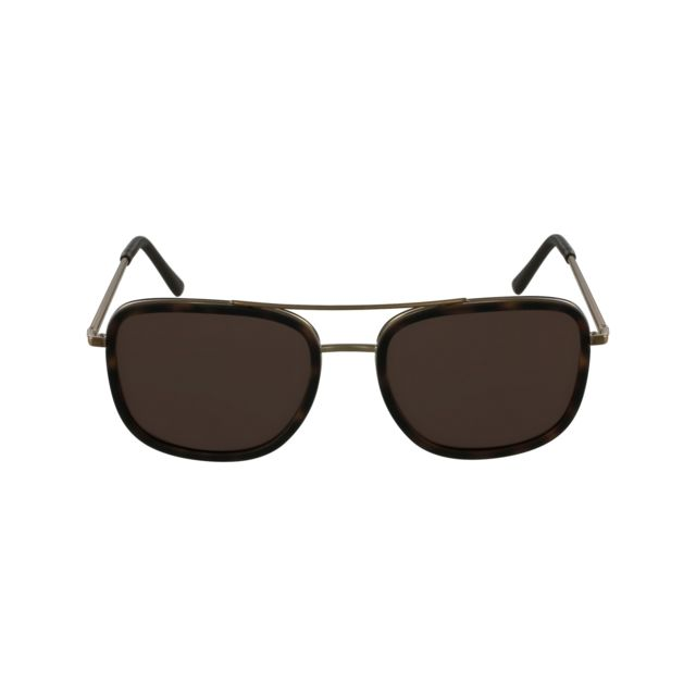 Burberry - Be-3085-Q 1167 5W Or brossé - Havane mat - Lunettes de soleil -  pas cher Achat   Vente Lunettes Tendance - RueDuCommerce d0980d944135