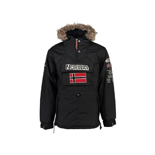 Geographical Norway Parka Homme Barman Gris pas cher