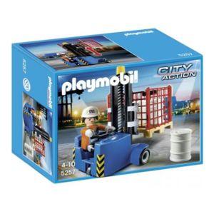 Playmobil - Elévateur avec ouvrier - 5257