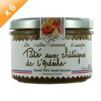 Lucien Georgelin - Pâté aux Châtaignes d'Ardeche 6x220g
