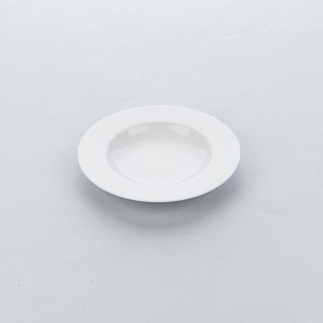 Materiel Chr Pro Assiette Creuse Porcelaine Blanche Apulia Ø 225 à 270 mm - Lot de 6 - Stalgast - 22,5 cm Porcelaine 225 Ø, mm