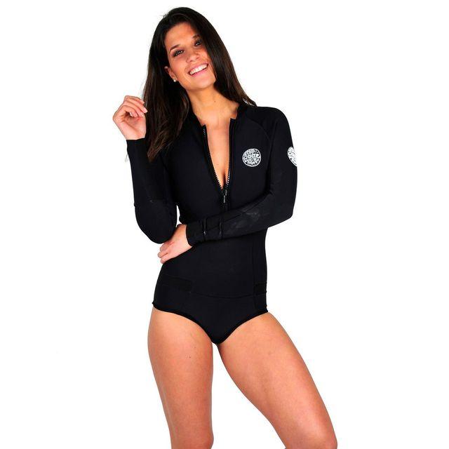 top fashion outlet online unique design Combinaison de surf noire manches longues G-bomb