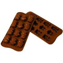 Silikomart - Moule en silicone - Moule à chocolat Easy Choc : Robochoc