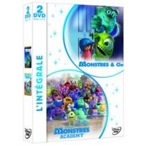 Dvd - Coffret Monstres Academy / Monstres Et Cie