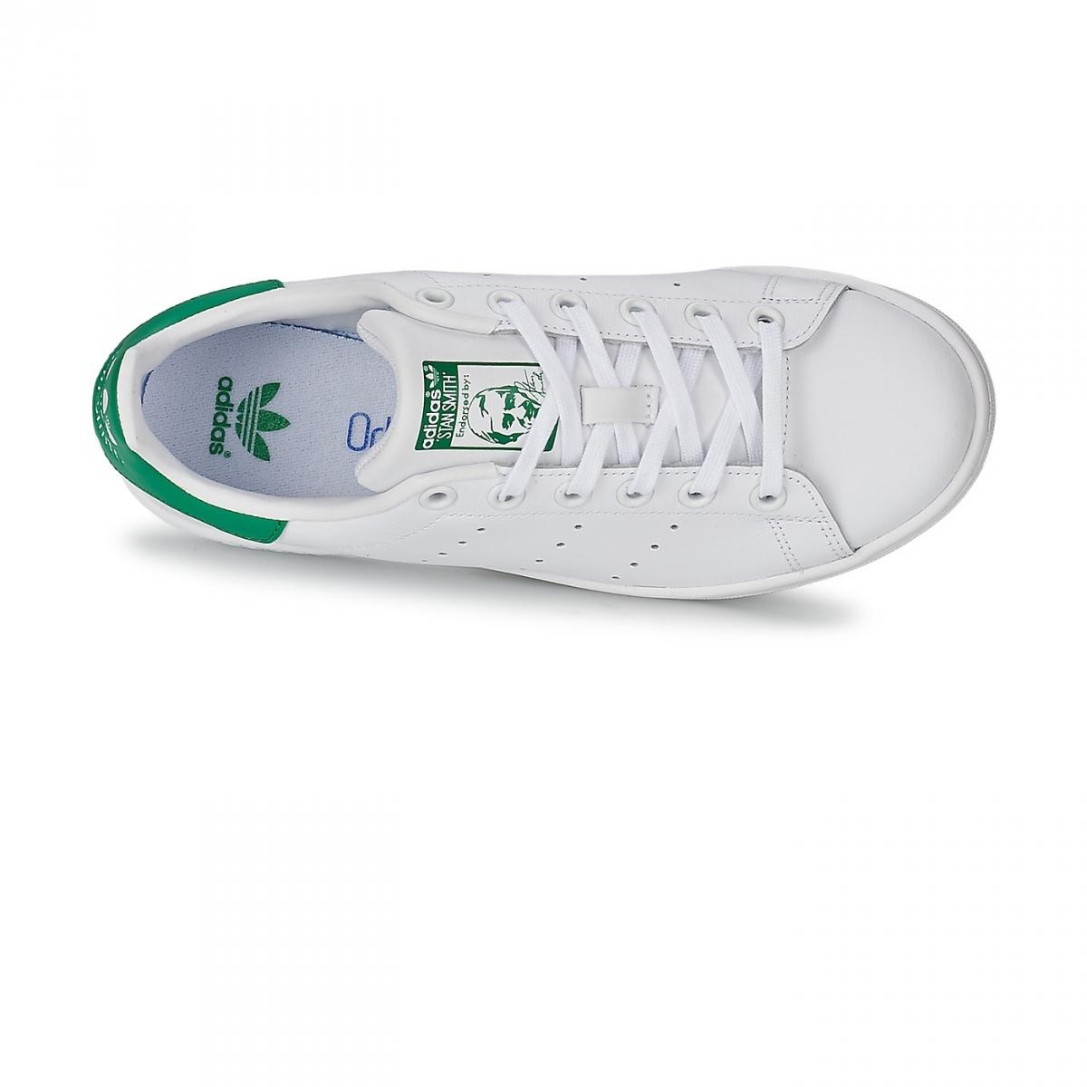 Chaussures Stan Smith Blanc/Vert Jw