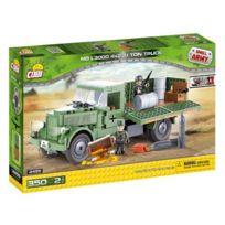 Cobi Klocki - Petite ArmÉE 2455 Mb L3000 4X2 3,1 Ton Truck, 350 Briques De Construction Par Cobi Co-2455