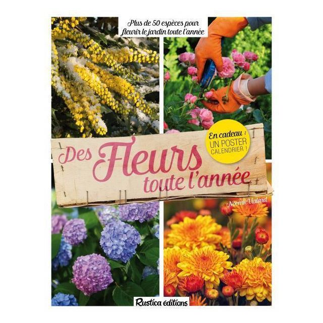 rustica des fleurs toute l 39 ann e plus de 50 esp ces pour fleurir le jardin toute l 39 ann e. Black Bedroom Furniture Sets. Home Design Ideas
