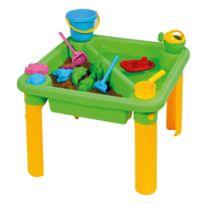 Vinco Educational - table a sable et a eau, en plastique