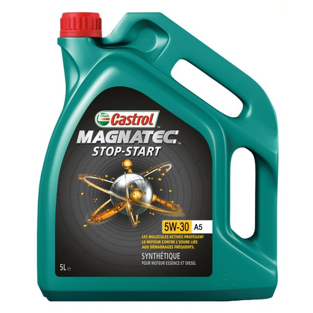 castrol huile moteur magnatec stop start 5w30 a5 bidon de 5 l achat vente huiles moteurs. Black Bedroom Furniture Sets. Home Design Ideas