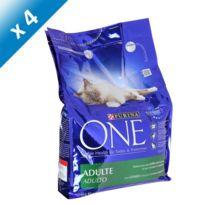 Purina - One Chat Adulte - Lapin et Céréales Completes - 3 Kg x4 Pour chien adulte