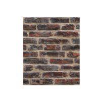Declikdeco - Papier Peint Briques Rouge