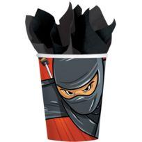 Amscan - Gobelets Ninja x8