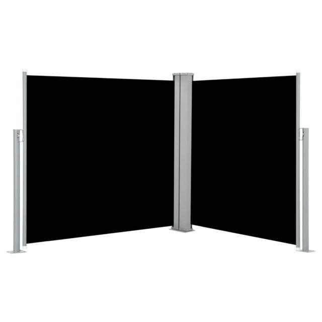 Vidaxl Auvent latéral rétractable Noir 100 x 600 cm