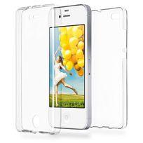 Cabling - Coque Integrale pour Iphone 4, 4S, en silicone Transparent