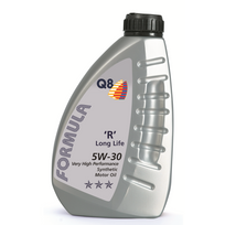 Topcar - Bidon 1 litre d'huile moteur Q8 Formula Vx Long Life 5W30 Réf. 101108401751