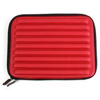 Duragadget - Housse en mousse à mémoire de forme pour tablettes 10 pouces - rouge