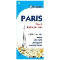 Michelin - Paris plan & index des rues