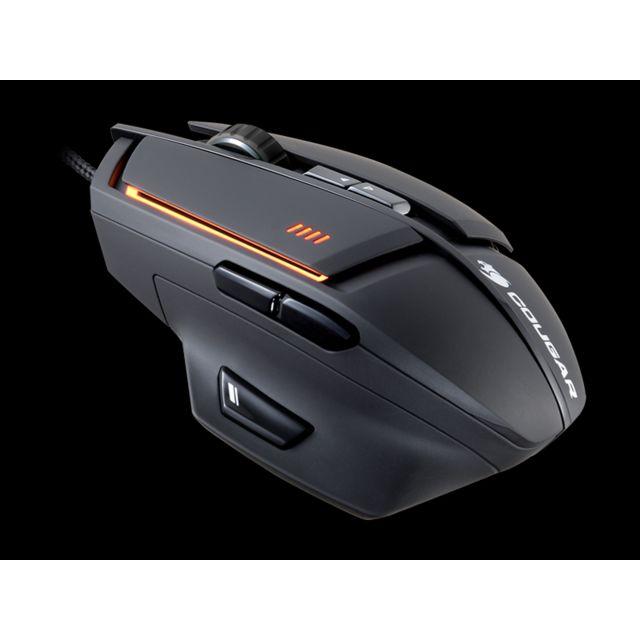 COUGAR Souris 600M Laser Gaming noir Capteur optique haute performance pour la précision de commande de curseur