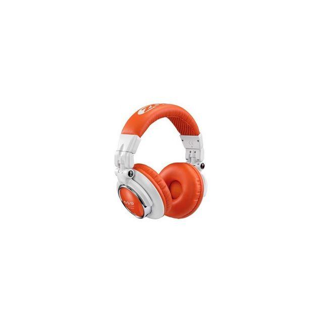 Zomo - Hd1200 Blanc/orange - Casque audio