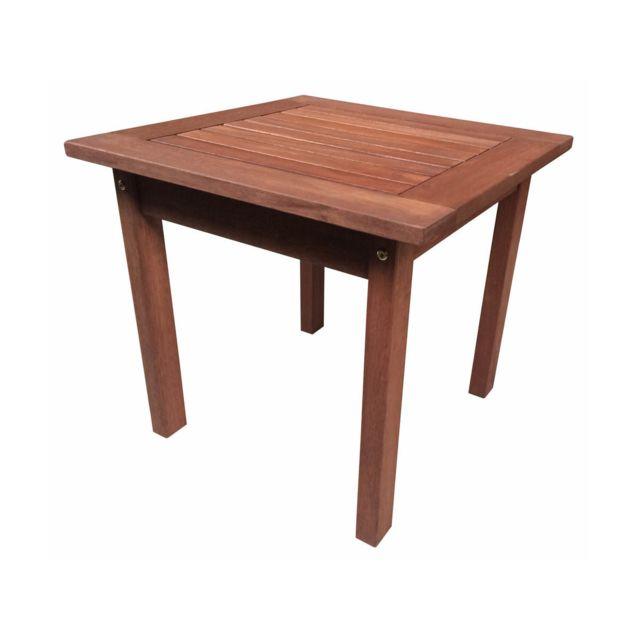 habitat et jardin table basse en bois exotique tokyo mahogany ma pas cher achat vente. Black Bedroom Furniture Sets. Home Design Ideas