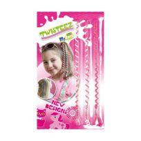 Revell - Torsades pour cheveux : Twisteez Motiv Rose et blanc