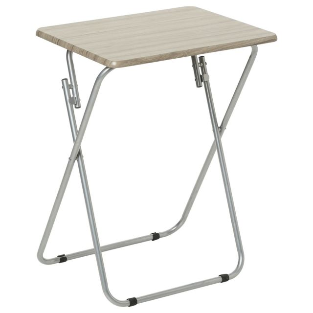 Mobea Table Tv Pliante Grey - Bois